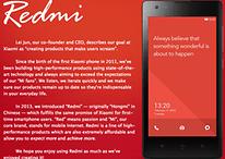 Xiaomi começa expansão para fora da China com Redmi