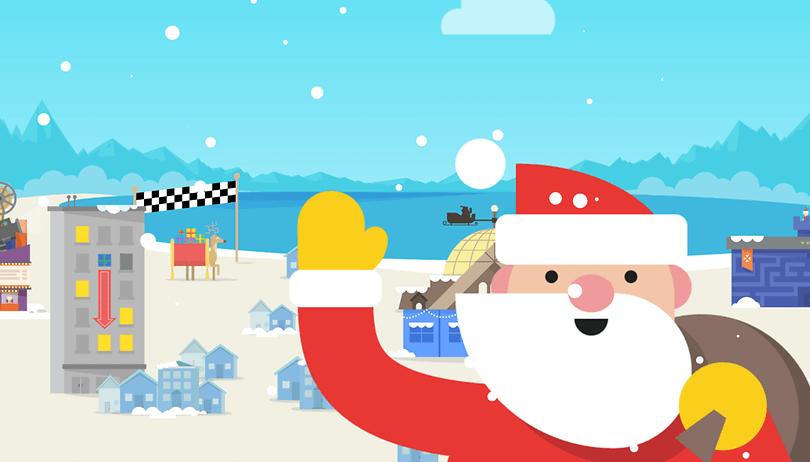 Siga o Papai Noel: diversão de Natal diretamente da Google!