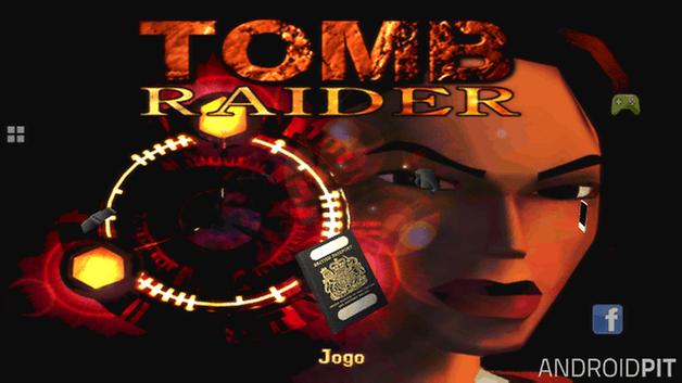 tomb raider menu
