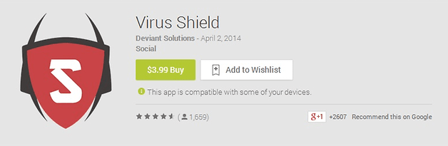 virus shield play store