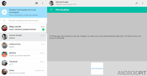 whatsapp web arquivos