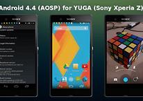 La ROM de Android Kitkat para el Xperia Z