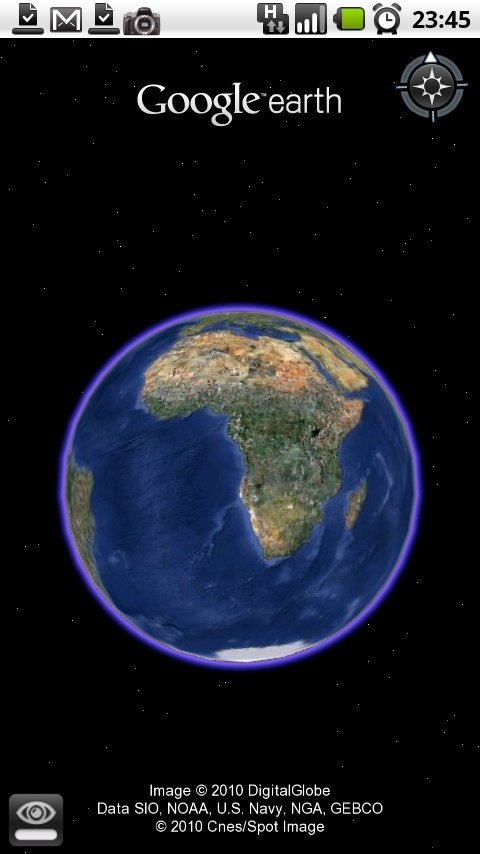 Google Earth on the Milestone - Video | AndroidPIT