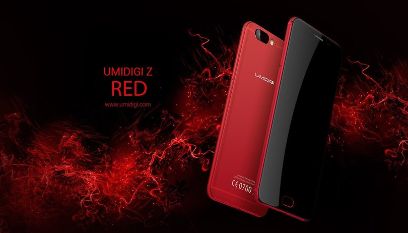 Does the UMIDIGI Z do red better than the iPhone 7?