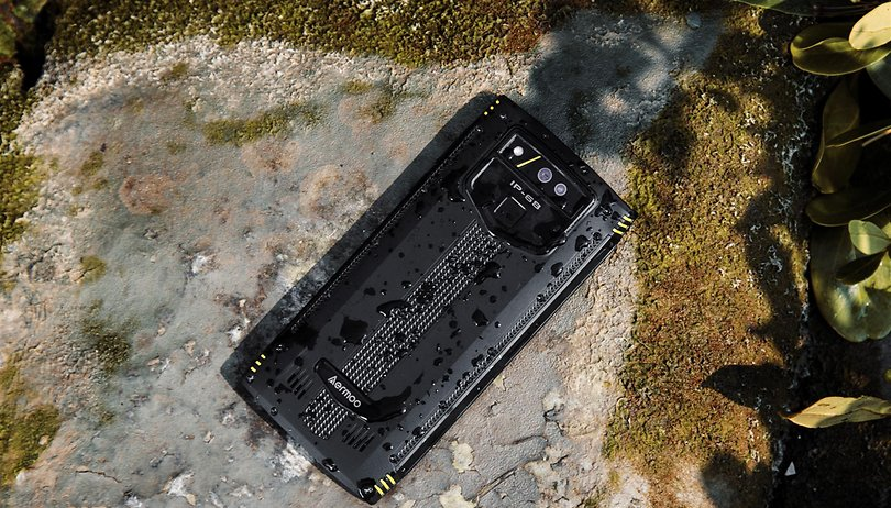 Aermoo M2: a quad-camera and IP69K rugged phone coming your way
