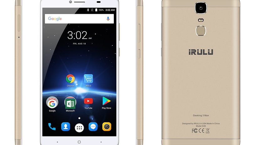 The iRULU GeoKing 3 Max combines flagship and unique features in one great phone