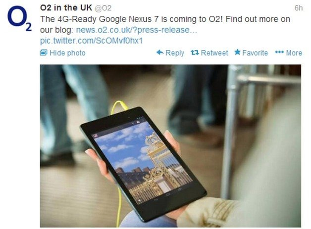 AndroidPIT uk o2 tweet