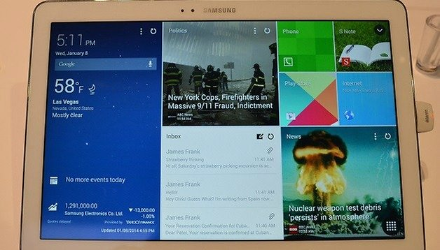 Galaxy Note Pro 12.2 Hands-on