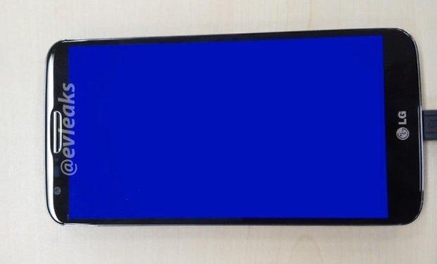 LG phone teaser
