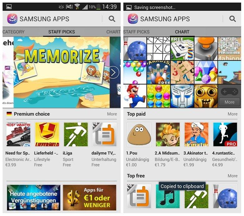 galaxy s4 apps