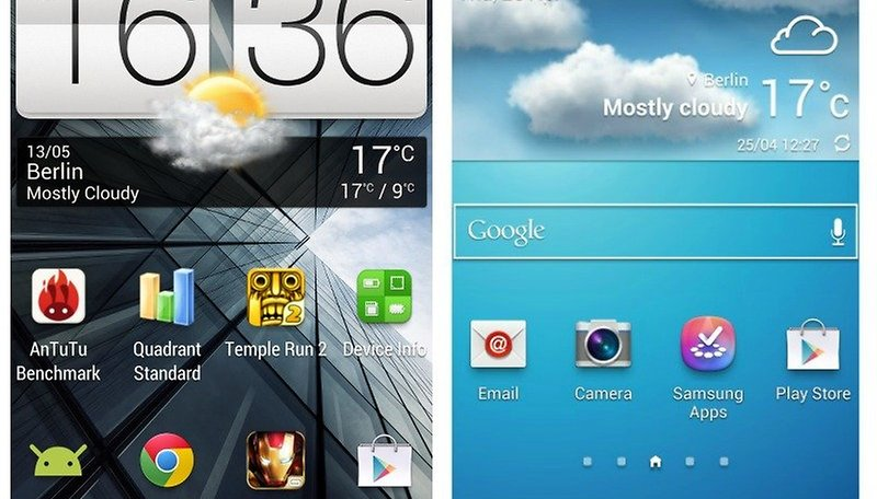 Samsung's Touchwiz Nature UX 2.0 vs. HTC Sense 5.0: Which is Better?
