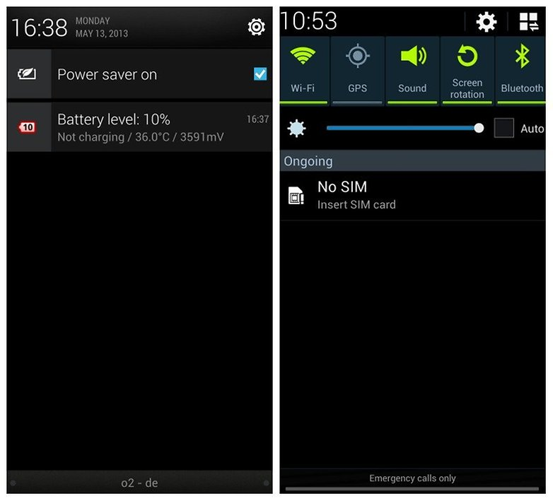 how to turn off notifications in htc one