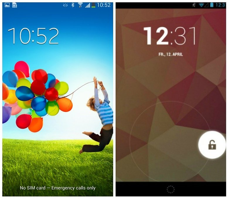 touchwiz android lockscreen