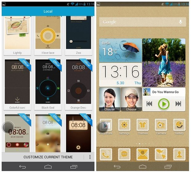 Huawei Ascend Mate themes