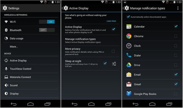 androidpit active notifications