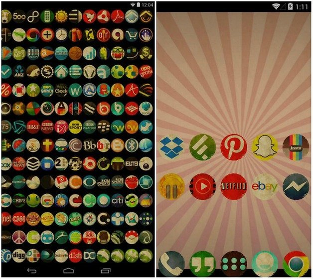 androidpit vintage icons
