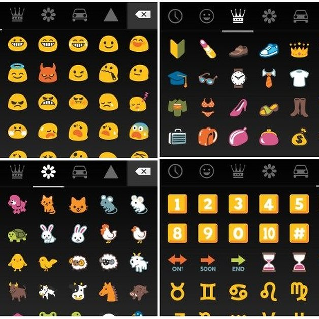 How To Get Android 44 Kitkat Emojis On Your Smartphone Androidpit
