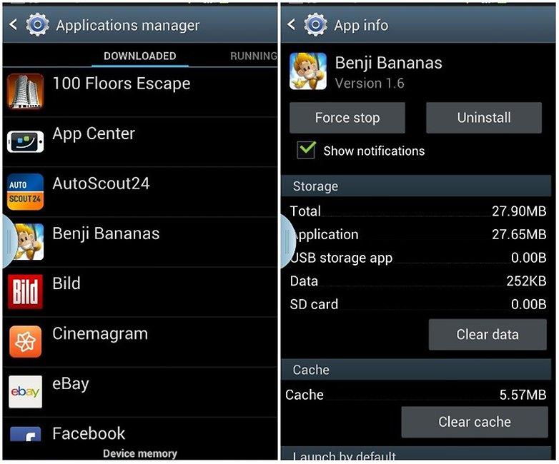 app manager app info