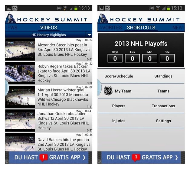 hockey summit app