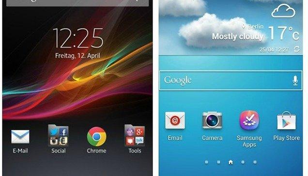 TouchWiz Vs. Xperia UI: Cluttered or Minimalistic?