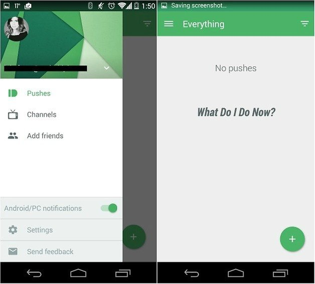 androidpit pushbullet material design