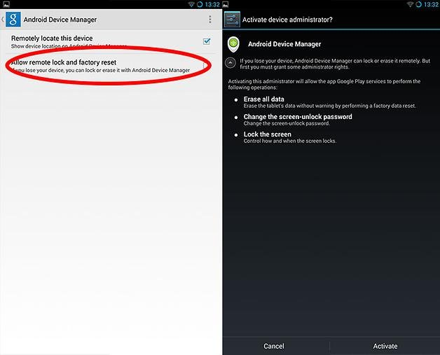 How to set up Android Device Manager to lock and wipe your