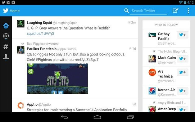 AndroidPIT twitter for tablets 1