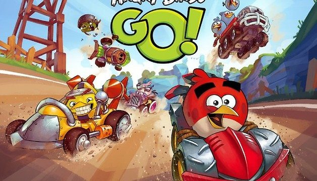 Angry Birds Go kart racer: race day is here!