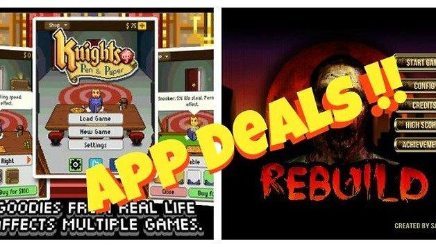 App Deals: Knights of Pen & Paper + 1 and Rebuild