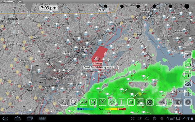 androidpit eWeather HD Radar HD Alerts 3