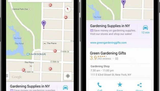 Google Maps places ads in search results: annoying or justified?