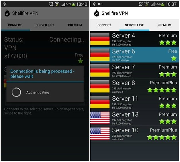how to create a vpn server on android