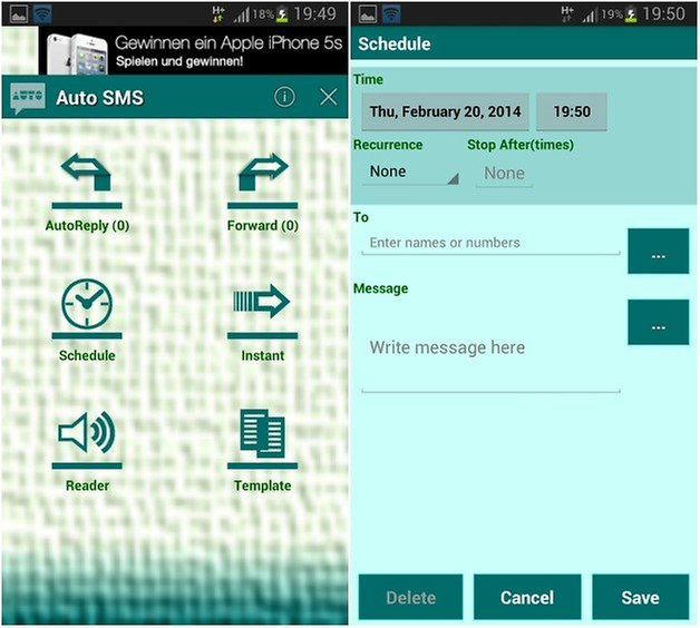 androidpit sms settings 4