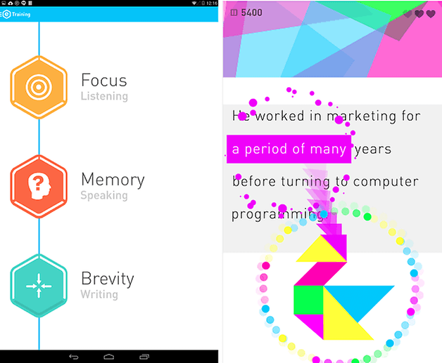 androidpit brain training