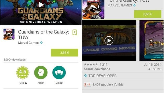 Android L: Get the Google Play Store with Material Design APK now!