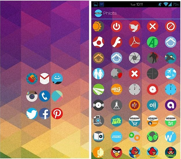androidpit phlats icon pack