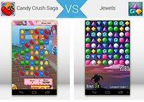 Duelo de Apps -  Candy Crush vs Jewels ¿Cuál es mejor?