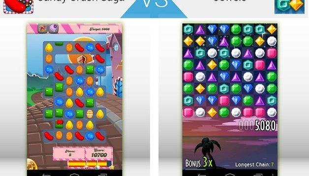 Duelo de Apps -  Candy Crush vs Jewels ¿Cuál es mejor?