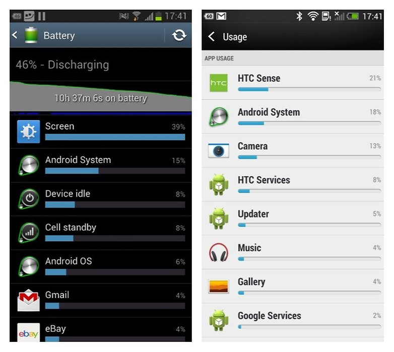battery htc galaxy