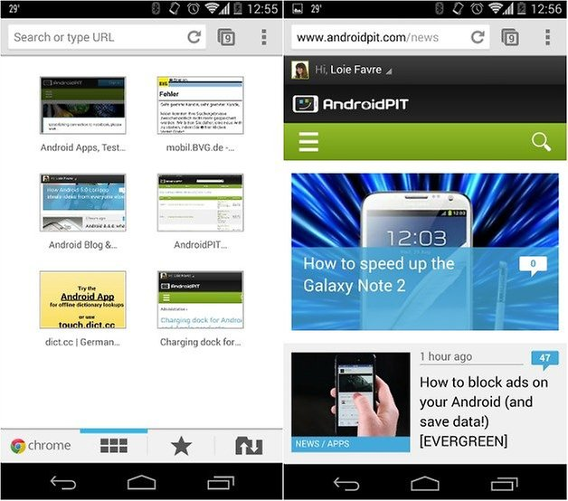 androidpit chrome browser 2