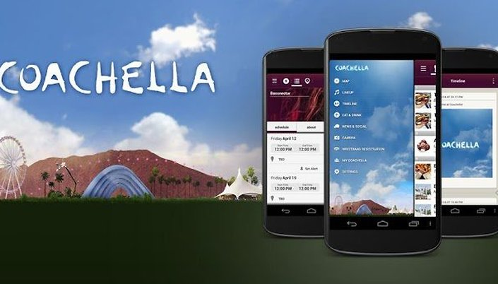 Coachella Gets Savvy with Free Android App