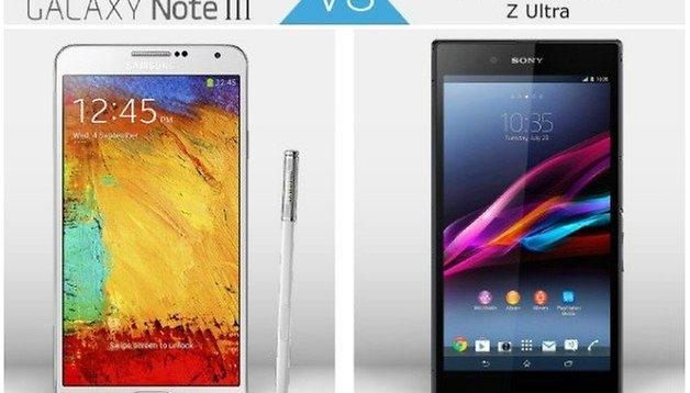 Device Wars: Galaxy Note 3 vs Xperia Z Ultra
