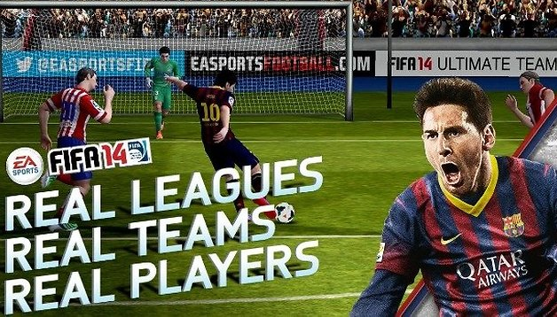 FIFA 14 by EA Sports: free, on Android & optimized for tablets!