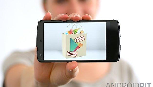 Ofertas de aplicaciones en Google Play Store