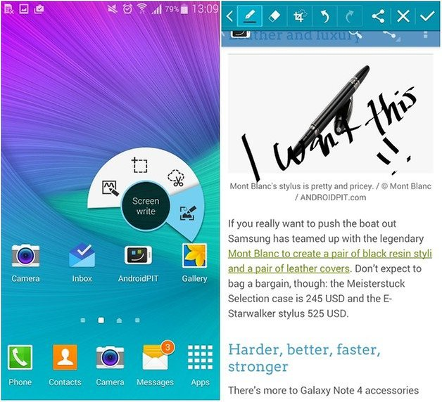 androidpit galaxy note 4 s pen 4