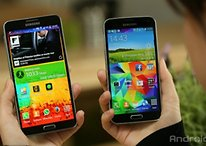Galaxy S5 vs Galaxy Note 3: Samsung's flagships in a comparison