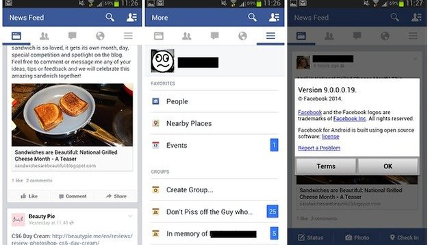 How to get the latest Facebook UI on your Android device (v.9.0+)