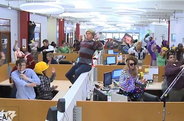 harlem shake office