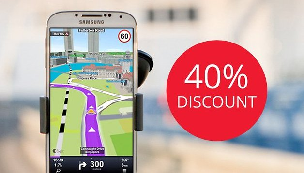AndroidPIT readers get 40% discount on Sygic GPS Navigation