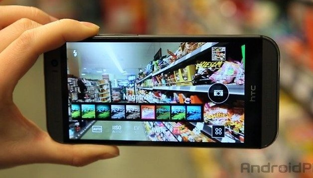HTC One M8 camera hands-on video review